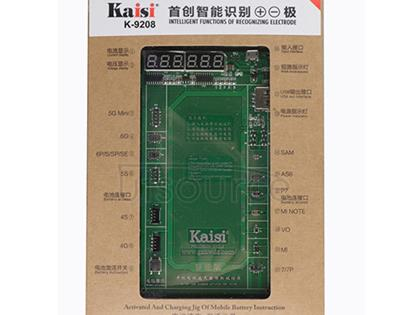 Kaisi 9208 Battery Fast Charging Activation Test Fixture Green