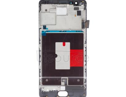Custom Screen Replacement with Frame for OnePlus 3/3T White