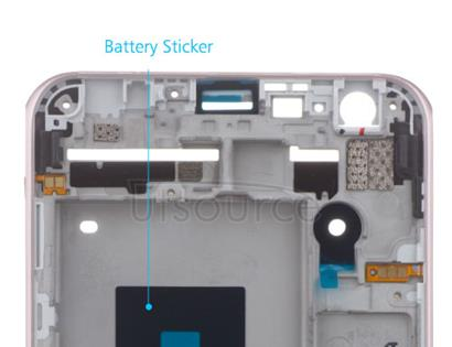 OEM LCD Supporting Frame for LG X Cam Pink-Gold