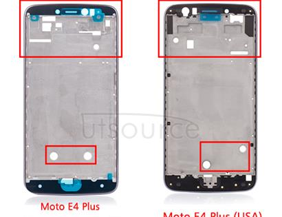 OEM LCD Supporting Frame Replacement for Motorola Moto E4 Plus Brazil Iron Gray Motorola Moto E4 Plus LCD Supporting Frame replacement is sued to replace your damaged and got crack lcd frame. Here we provide you a new lcd plate replacement for your phone.