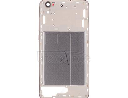 OEM Back Frame for Huawei Honor 5A Gold/White