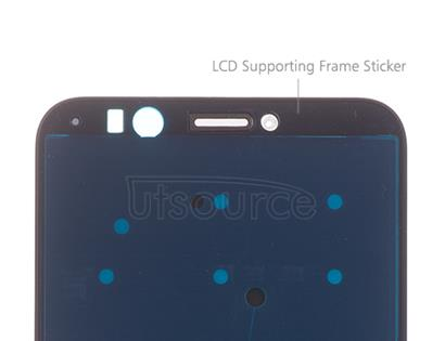OEM LCD Supporting Frame for Huawei Honor 7C Black