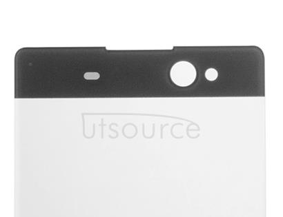 Custom Front Glass for Sony Xperia XA Ultra Graphite Black