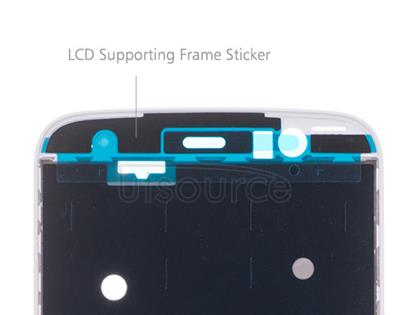 OEM LCD Supporting Frame for Motorola Moto M Silver