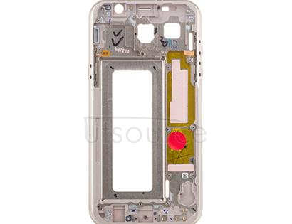 OEM Mid-Frame Assembly for Samsung Galaxy A7 (2017) Gold Sand
