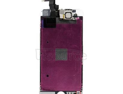 Custom LCD Screen with Digitizer Replacement for iPhone 5S White