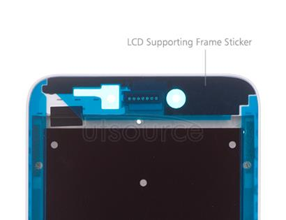 OEM LCD Supporting Frame for Xiaomi Redmi 5A White/Gold