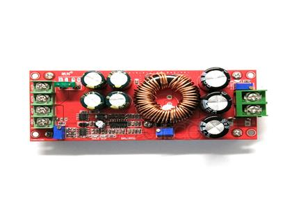 1200W high-power DCDC booster constant voltage constant current adjustable vehicle charging power supply module constant voltage constant current through load protection reverse voltage protection