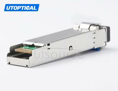 Brocade E1MG-1G-BXD-40 Compatible SFP-GE-BX40 1550nm-TX/1310nm-RX 40km DOM Transceiver