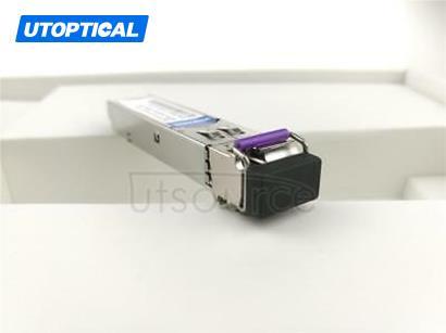 HPE BiDi SFP-1G-BXU-120 Compatible SFP-GE-BX120 1490nm-TX/1550nm-RX 120km DOM Transceiver
