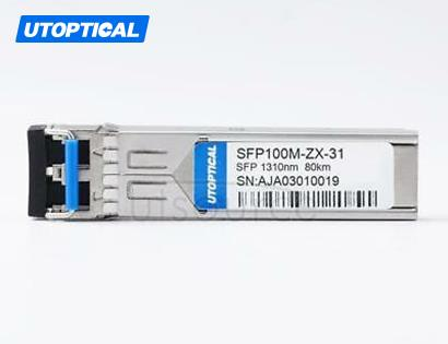 Generic Compatible SFP100M-ZX-31 1310nm 80km DOM Transceiver