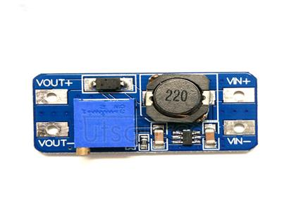 MT3608DC boost module 2A boost plate input voltage 2-24v l 5/9/12/ -28v adjustable 2577 The output voltage cannot be adjusted and is always equal to the input voltage. When you encounter this kind of problem, please first counter-clockwise rotation potentiometer more than 10 turns, and then use the module to adjust the voltage can be normal.