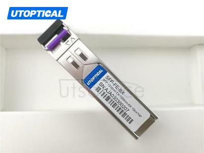 HPE JD100A Compatible SFP-FE-BX 1310nm-TX/1550nm-RX 15km DOM Transceiver