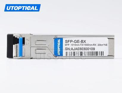 NETGEAR Compatible SFP-GE-BX 1310nm-TX/1550nm-RX 20km DOM Transceiver