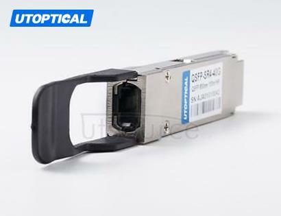 Brocade 40G-QSFP-ESR4 Compatible QSFP-LRS4-40G 850nm 400m DOM Transceiver