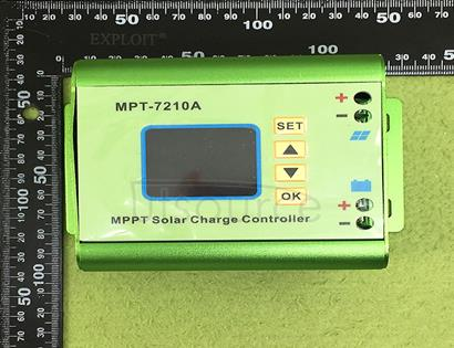 MPPT solar controller voltage ammeter numerical control boost module 24V to 72v battery charger