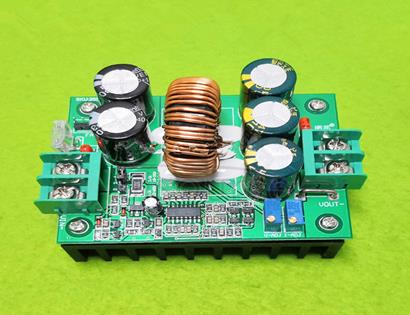 Open source dc-dc 1200W constant voltage constant current high power boost module solar energy charging 12-80v