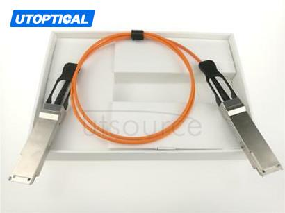 15m(49.21ft) H3C QSFP-40G-D-AOC-15M Compatible 40G QSFP+ to QSFP+ Active Optical Cable