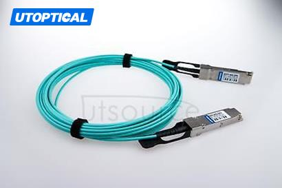 150m(492.13ft) Utoptical Compatible 40G QSFP+ to QSFP+ Active Optical Cable