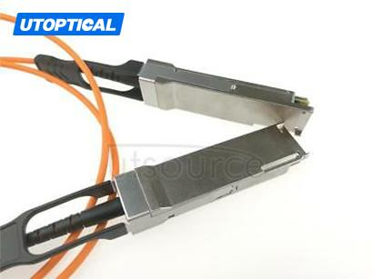 15m(49.21ft) Dell Force10 CBL-QSFP-40GE-15M Compatible 40G QSFP+ to QSFP+ Active Optical Cable