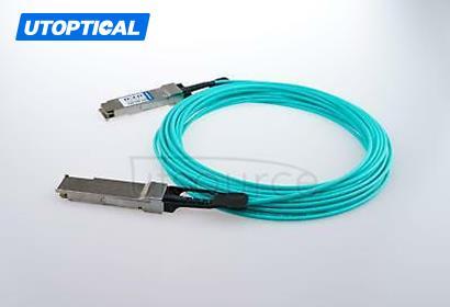 100m(328.08ft) Brocade 40G-QSFP-QSFP-AOC-5001 Compatible 40G QSFP+ to QSFP+ Active Optical Cable