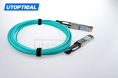 300m(984.25ft) Utoptical Compatible 40G QSFP+ to QSFP+ Active Optical Cable