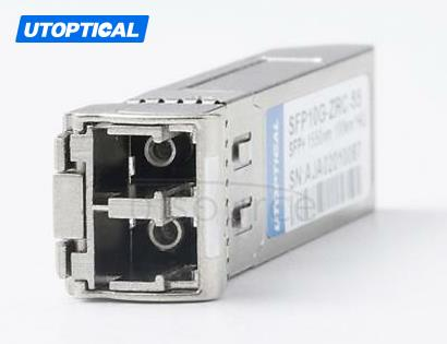 Brocade 10G-SFPP-ZR100 Compatible SFP10G-ZRC-55 1550nm 100km DOM Transceiver