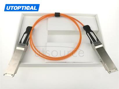 2m(6.56ft) Dell Force10 CBL-QSFP-40GE-2M Compatible 40G QSFP+ to QSFP+ Active Optical Cable