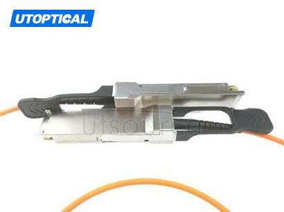 7m(22.97ft) H3C QSFP-40G-D-AOC-7M Compatible 40G QSFP+ to QSFP+ Active Optical Cable