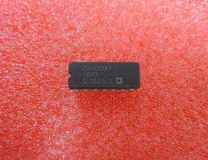 OP470AY/883 Very Low Noise Quad Operational Amplifier