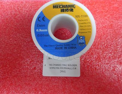 MECHANIC fine solder wireHX-100(small) 0.8 [55G]