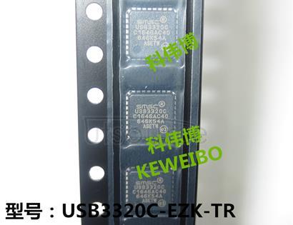 USB3320C-EZK-TR USB332x Series USB Transceivers with ULPI Interface