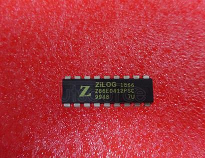 Z86E0412PSC CMOS Z8 OTP Microcontrollers