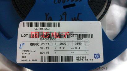 CREE SMD LED 1210 3528 5000K Cool white CLA1A-WKW