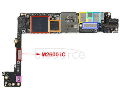 Camera Flash Module IC M2600 for iPhone 7