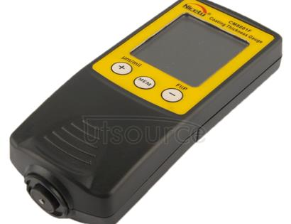 NICETY Coating Thickness Gauge for Measurement of Non-magnetic Coatings on Ferromagnetic Substrates (CM8801F)(Yellow)