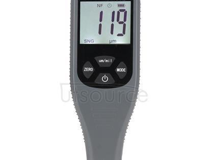 RZ240 Ferrous & Non-Ferrous 2 in 1 Digital Coating Paint Thickness Gauge Meter Tools (Grey)