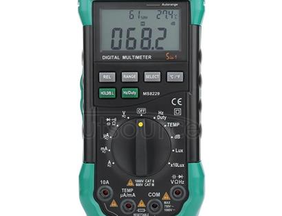 BSIDE MS8229 Digital Multimeter LUX Noise Meter Temperature Humidity Tester