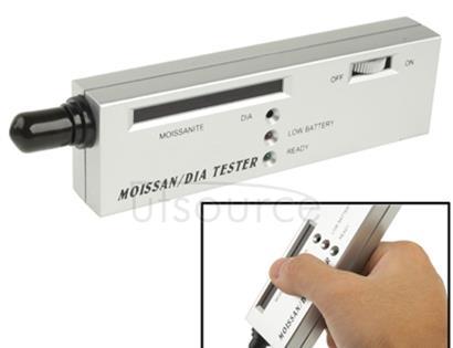 Portable Moissanite / Diamond Tester, DC 9V Battery(Silver)