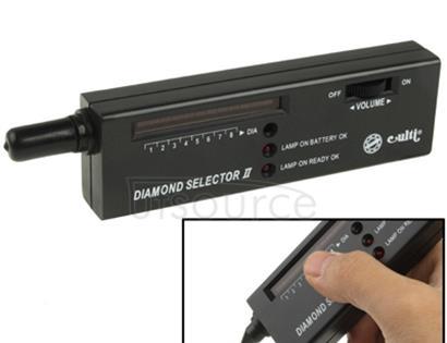 Diamond Selector ll with LED Indicator, DC 9V Battery(Black)