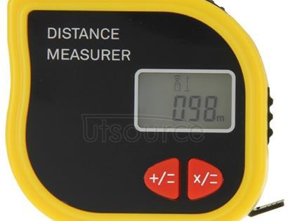 CP-3001 Ultrasonic Distance Measurer Laser Point with 1m Tape Measurer