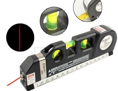 Laser Level with Tape Measure Pro 3 (250cm), LV-03(Black)