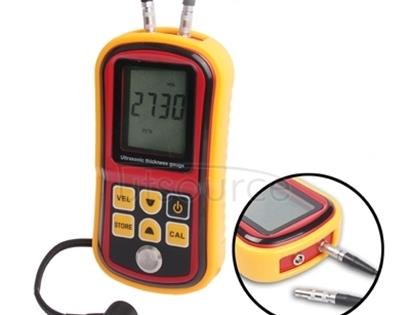 Ultrasonic Thickness Meter Tester Gauge Velocity 1.2~225mm Metal (GM-100)(Red)