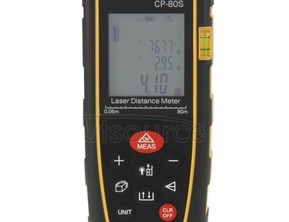 CP-80S Digital Handheld Laser Distance Meter, Max Measuring Distance: 80m