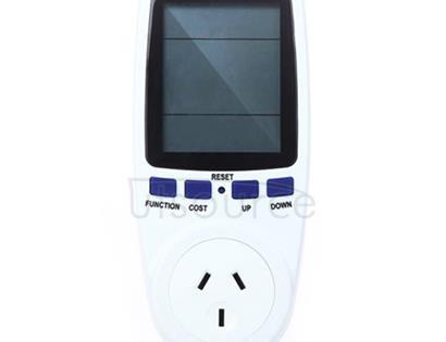 AC 240V 50Hz Max 10A LCD Display Power Meter Energy Watt Amps Volt Electricity Usage Monitor Analyzer, AU Plug