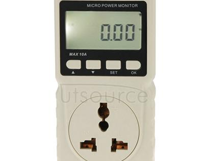 BENETECH GM86 LCD Display MAX 10A Micro Power Monitor Energy Meter, EU Plug