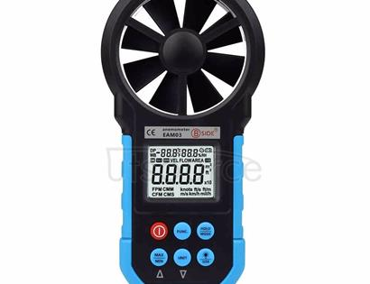 BSIDE EAM03 USB Interface Handheld Mini Digital Anemometer with LCD Display Screen