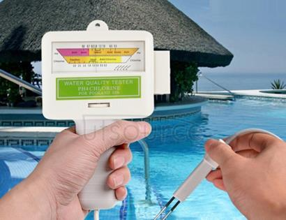 Home Swimming Pool Water PH / CL2 Tester, Cable length: 1.2m