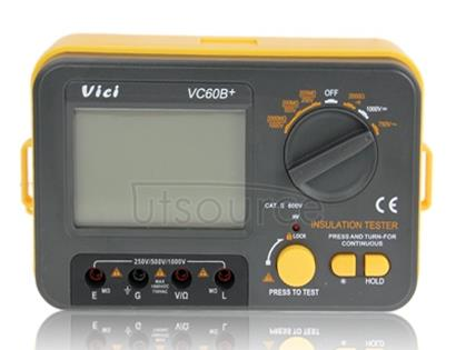 VC60B Plus Megohm Meter Original Insulation Resistance Testers with High Quality