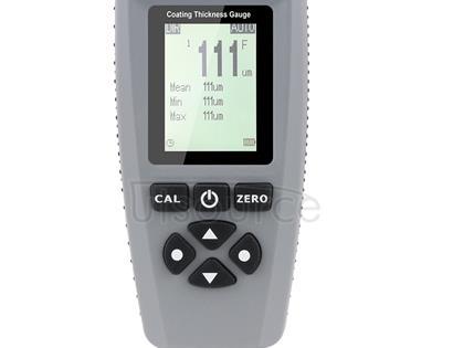 RZEC770 LCD Display Coating Paint Thickness Gauge Meter Tools (Grey)
